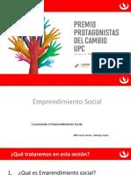 Diplomado de Emprendimiento Social Escolar. Sr. Javier Garcia Blasquez