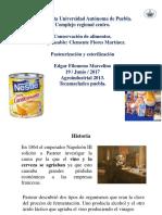 Pasteurización y Esterilización EDGAR