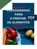 Fluxogramas Preparo de Alimentos