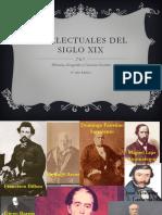 Intelectuales del Siglo XIX 6°