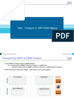 ABAP on HANA Course Material Transport Management Module-9