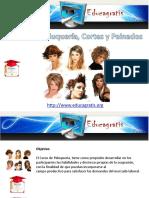 Curso de Peluqueria Cortes y Peinados