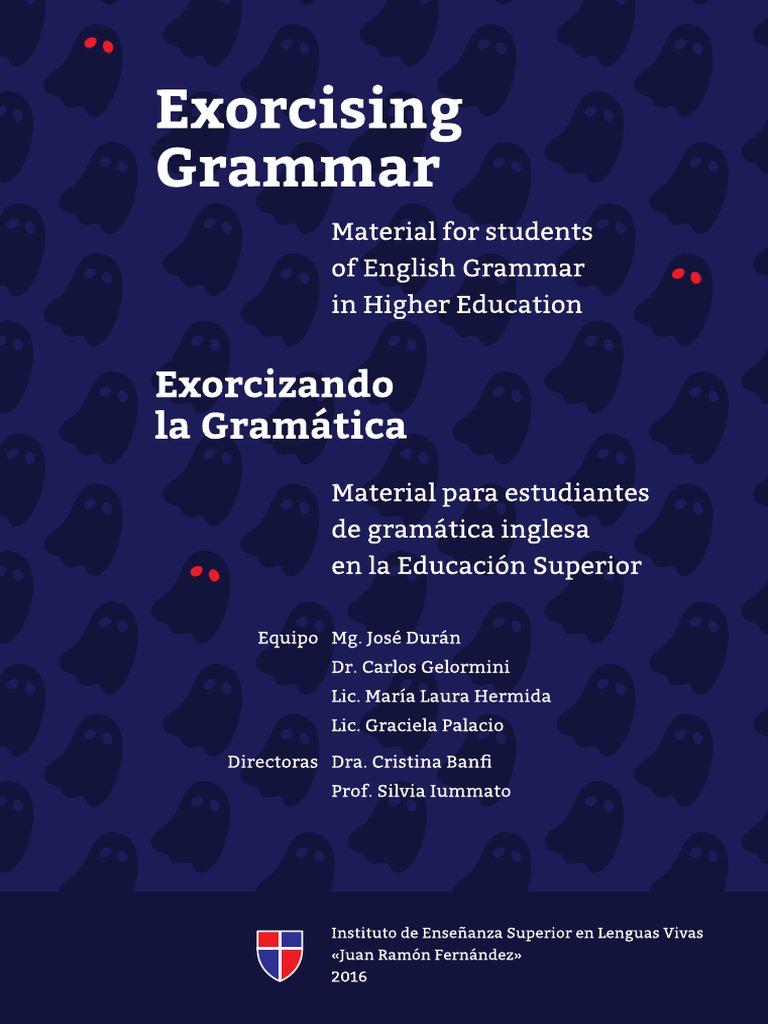 Exorcising Grammar Pdf