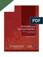 Semiotica y Conocimiento - Contenido Prologo e Introduccion - P Alfonso Camargo