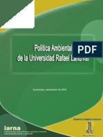 2014_Política Ambiental de La URL