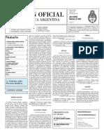 Boletin Oficial 30-07-10 - Segunda Seccion