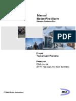 Cover Manual Fire Alarm - Parama