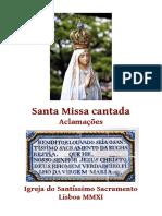 Bemdito e Louvado Seja o Santissimo Sacramento Da Eucharestia 2ªed