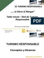 Taller1 Turismo Responsable