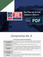 Presentación Compromiso No. 8 Gobierno Abierto - MINERD
