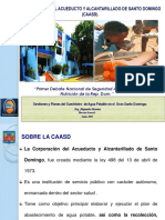 Gestion y Planes CAASD -Agua Potable