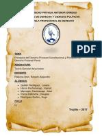 PRINCIPIOS DEL DERECHO PROCESAL PENAL Y CONSTITUCIONAL