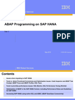 Abap Programing for SAP HANA - Migration Tools
