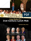 ESU - Case Study of a 21st Century Lynch Mob (Excerpts)