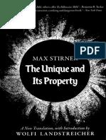 Max Stirner, Wolfi Landstreicher, Apio Ludd-The Unique and Its Property-Underworld Amusements (2017)