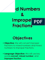 ConvertingMixedNumbersandImproperFractionsPPT
