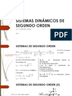 Sistemas Dinámicos de Segundo Orden