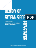 Design of Small Canal Structures