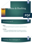Ethics & Hacking