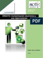 Contaminación electrónica y sus repercusiones