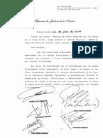 CSJN Stutz, Jorge Arnoldo el Estado Nacional - ANSES si cobro de sumas de dinero.
