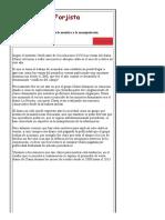 El Forjista - Clarín _ El Precio de La Mentira