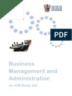 Business Admin Icm