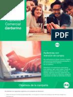 Propuesta Advertising OLX Garbarino Junio 2017