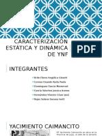 Caracterización Estática y Dinámica de Ynf