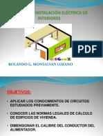 Clase de Instalacion Electrica de Viviendas 2014-i