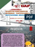 diapositivas Aparatos sanitarios