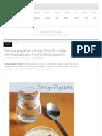 Semiya Payasam Recipe _ How to Make Semiya Payasam Recipe