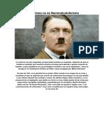 Nacionalsocialismo No Es Nacionalcatolicismo