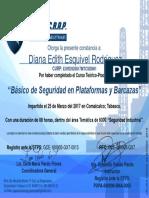 14.- Básico de Seguridad en Plataformas y Barcazas-Diana Edith Esquivel Rodríguez