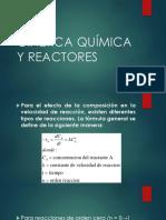 Presentacion Cinetica de Reactores