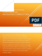 Africa Multinational Corporations- Navigating Currency Risk