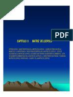 EIA Cap 9 Matriz de Leopold
