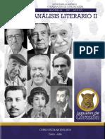 Análisis literario II, Material de apoyo, Enero-Julio 2015-2016
