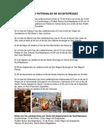 Fiestas Patronales de Suchitepéquez