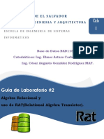 Guia02BAD115 Algebra