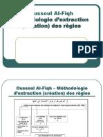 Méthotologie d'Éxtraction(Création) Des Régles de Fiqh