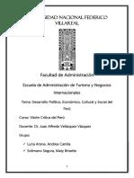 Desarrollo Peruano Monografia