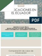 Epidemiologia-intoxicaciones