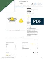 SPRITTA Presse-Agrumes - IKEA