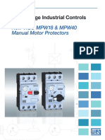 WEG Mpw18 Mpw40 Manual Motor Protectors Mmpmpw Brochure English