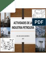 Presentación2. Actividades de La Industria Del GN y Petróleo