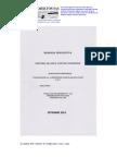 Memoria Descriptiva Red Contraincendios (Gabinetes y Rociadores)