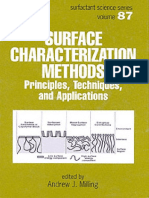 Surface Characterization Methods