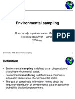 ENVIROMATICS03 - Environmental Sampling