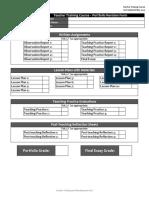TTC Portfolio Revision Form & Criteria.pdf